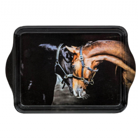Old Friends Horses Trinket Tray